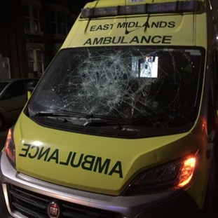 The ambulance was put out of action for six days
