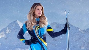 Model Vogue Williams quits The Jump before show starts over knee injury