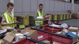Temporary workers at Royal Mail