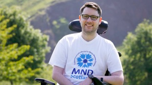 Tributes to MND campaigner Gordon Aikman