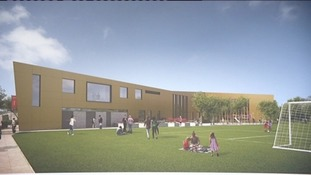 Artists' impression of proposed new building
