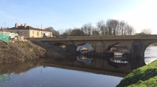 Last minute touches before Tadcaster bridge re-opens