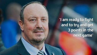 Rafa Benitez has insisted he's not quitting as Newcastle United manager.