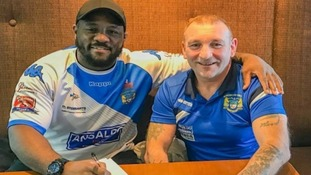 Phil Joseph (left) has signed.