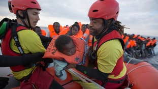 Hundreds of migrants rescued as EU leaders discuss crisis