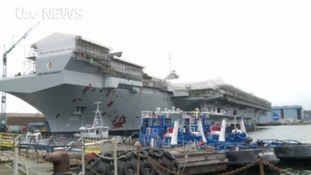 New aircraft carrier 'arriving later than expected'