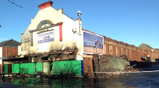 Old bingo hall in Sunderland devastated by fire
