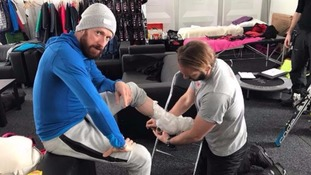 Bradley Wiggins insists 'the show must go on' despite injury