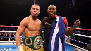 Chris Eubank Junior wins IBO World super-middleweight title