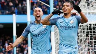 Premier League match report: Man City 2-1 Swansea City