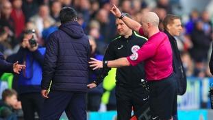 Huddersfield boss sorry over ugly Leeds scenes