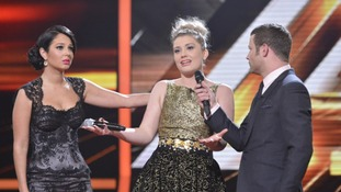Ella Henderson lost out to James Arthur in the sing-off