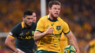 Rob Horne has signed for Northampton Saints.
