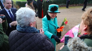 Queen spends landmark jubilee at Norfolk home