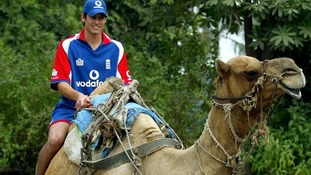 Cook was called up the England squad as injury cover for captain Michael Vaughan in Pakistan in 2005.
