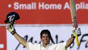 At the age of just 21, Cook scored a century on his test debut against India in 2006.