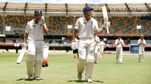 There were similar scenes a year later in Australia as England won the series 3-1, with Cook winning Man of the Series.