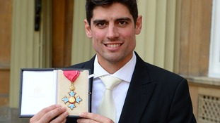 Cook was recently awarded a CBE by the Prince of Wales.