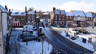 Snow in Beverley