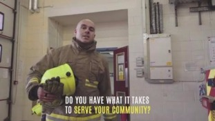 Campaign to recruit new firefighters in West Yorkshire