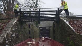 monmouthshire and brecon canal lock