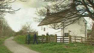 Birthplace of railway pioneer George Stephenson.