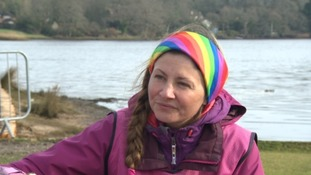 Bereaved mother nears end of sponsored walk around whole coastline of Britain in memory of daughter