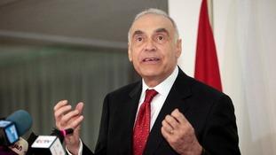 Egypt's Foreign Minister Mohamed Amr