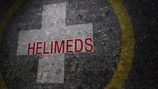 A heart attack and a roof fall - the Helimeds are back