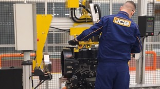 New JCB engines create 50 jobs at East Midlands factory