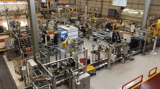 Production line for the new engine