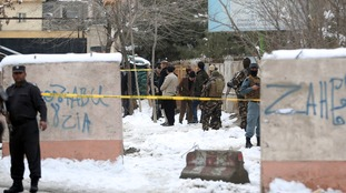 Deadly 'suicide' bomb blast hits Afghanistan's Supreme Court in Kabul