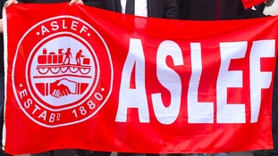 ASLEF union flag