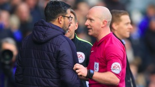 Managers and clubs charged over fracas at end of Huddersfield-Leeds game