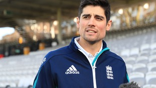 Alastair Cook tells his successor: 'Throw yourself into it and enjoy the ride'