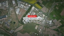 Deeside paper mill death