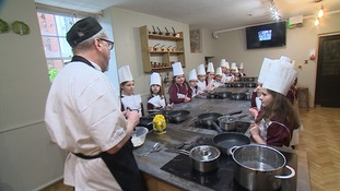 One of the region's top chefs adopts a school!