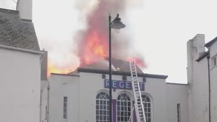 Lyme Regis cinema on course for re-build after fire