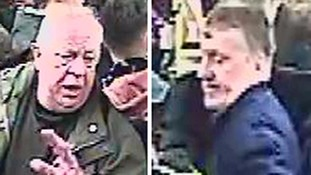Two men hunted by police over 'tirade of anti-Semitic abuse' on tram