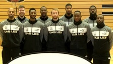Newcastle Eagles lost their quarter final match against Leicester Riders 104-69