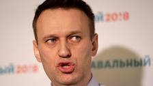 Mr Navalny had announced plans to run for office in December