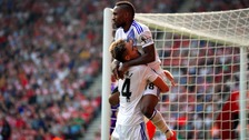 Adnan Januzaj assisted Jermain Defoe with both of his goals in Sunderland's 4-0 win against Crystal Palace