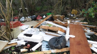 Serial fly-tipper jailed after blighting Wiltshire countryside