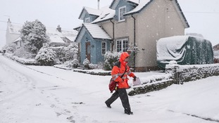 Snow and sleet set to hit Britain as temperatures plunge to 5C colder than normal