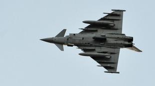 RAF jets scrambled to intercept Russian bombers near UK airspace