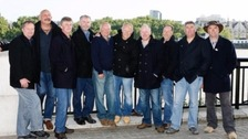 The Fisherman's Friends were due to play at the Landmark Theatre next week
