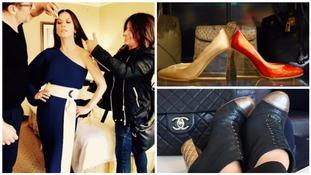 Fancy a look around Catherine Zeta Jones' wardrobe? Take a peek!