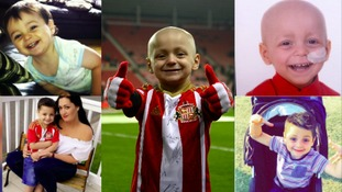 The story of Bradley Lowery from County Durham has captured the hearts of people around the world.