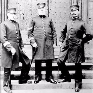 York Minster police cathedral constables in the year 1900
