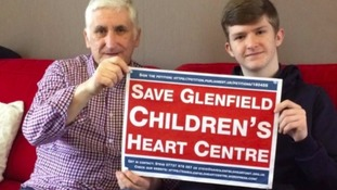 Thousands signed the petition to save Glenfield Children's Heart Centre